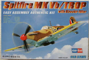 Hobbyboss 1/72 80214 Supermarine Spitfire MK.VB/TROP with Aboukir Filter